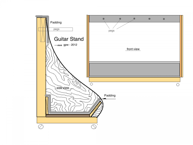 Doing By Wooding Choice Free Woodworking Plans Guitar Stand